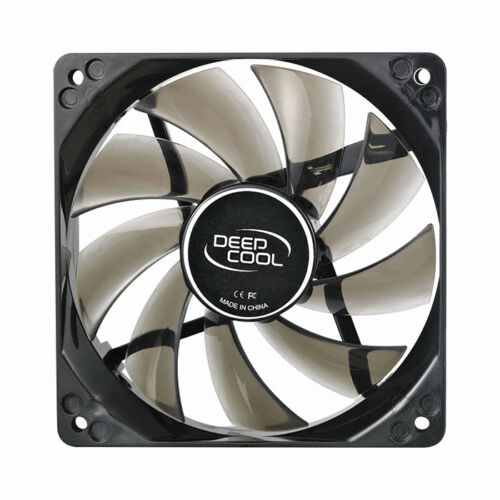 "/""NEW/"" Premium 120mm 25mm NEW CASE FAN 12V DEEPCOOL WIND BLADE 120 WHITE-FREESHIP"