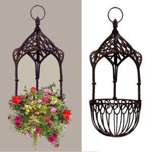 "Tall 25"" Tall Victorian Hanging Basket Gazebo Design"
