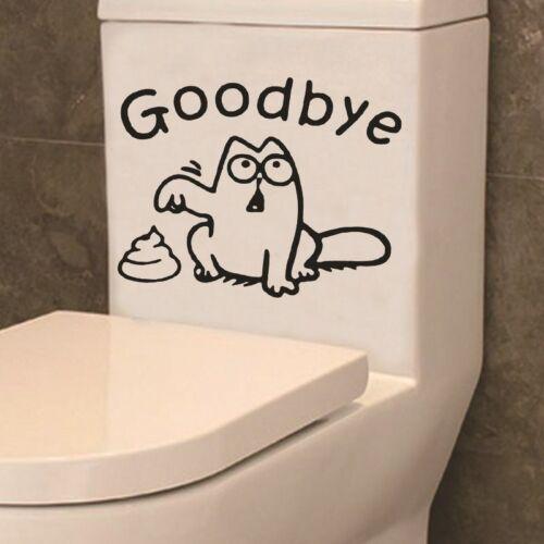 Home Sticker Wall Decals Toilet Seat Bathroom Window Decoration Vinyl Wallpaper