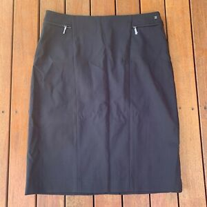 David-Lawrence-New-Black-Pencil-Skirt-Size-10-New-Without-Tags-Lined-Business