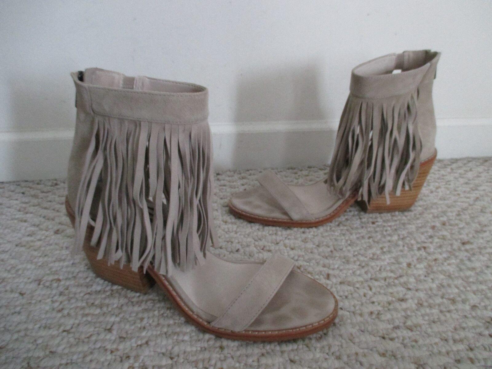 Sol Sana Frange Daim Sandale chaussures Taille 39