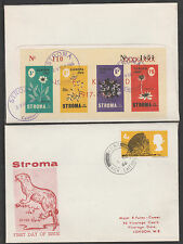 GB Locals - Stroma 3452 - 1965 Europa KENNEDY OPT on cover to London