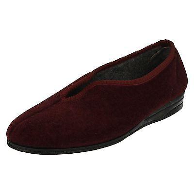 Mujeres Ladylove Zapatillas Tamaños Reino Unido 3-8 Mandy