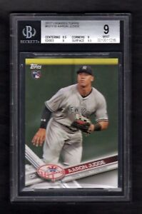 2017-TOPPS-NYY16-AARON-JUDGE-YANKEES-BGS-9-MINT-CENTERED
