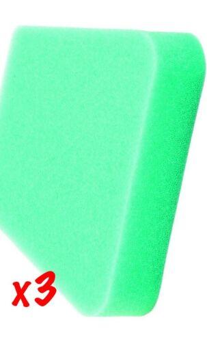 3 PACK POULAN CRAFTSMAN CHAINSAW AIR FILTER 530 037793 WILDTHING WOODSMAN Green