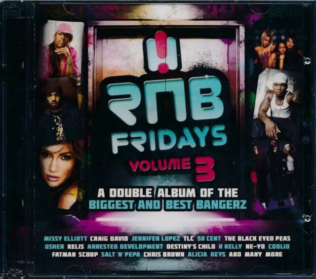 RnB Fridays Vol. 3 CD NEW. Missy Elliott Craig David Black Eyed Peas