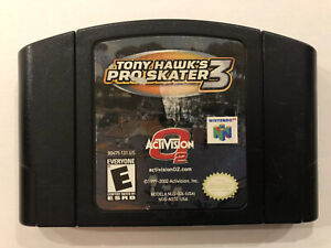 Tony-Hawk-s-Pro-Skater-3-Nintendo-64-Authentic-N64-Game-Only