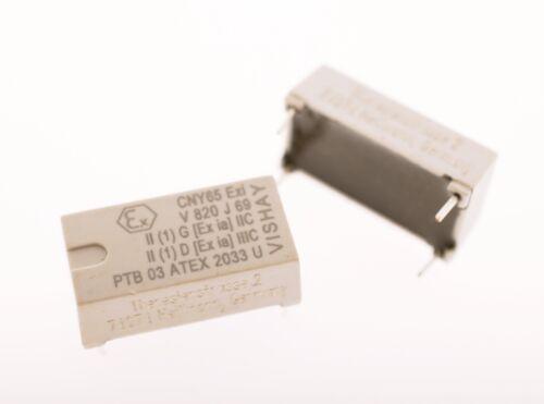 2x cny65 EXI Optoisolator 11.6 KV Trans 4-dip Vishay 18 Optokoppler #714442