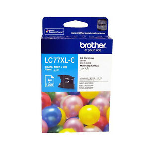 GENUINE-Original-Brother-LC77XLC-CYAN-Ink-Cartridge-Toner-LC77XL-C