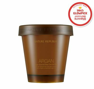 Nature Republic-Argan Essential Deep Care Hair Pack for Damaged Skin (200ml)