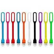 10 PCS Flexible Bright Mini USB LED Light Lamp for Notebook Laptop Desk Reading