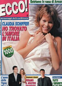 Ecco 1995 1 claudia schiffer andre agassi brooke shields meryl streep tom hanks ebay - Canzoni er finestra ...