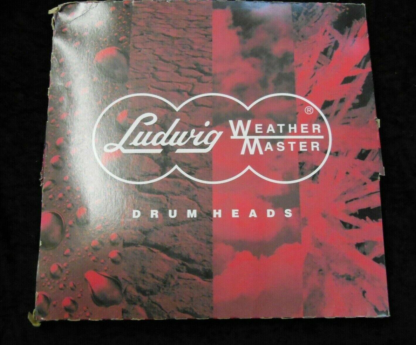 "Vintage Ludwig 6/"" Ensemble Coated Drum Head"