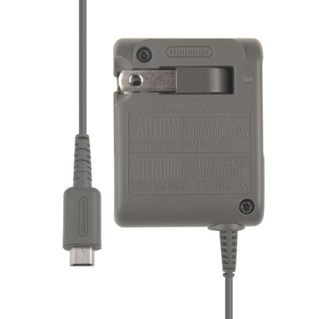 %100 OFFICIAL NINTENDO NDS LITE, DS LITE WALL CHARGER/AC ADAPTER NEW
