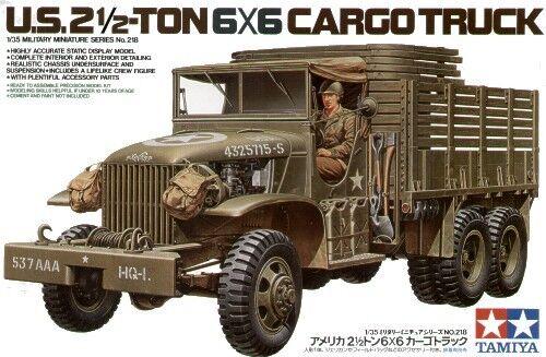 Tamiya 1 35 U. S.2 1 2 Ton 6x6 Cargo Camion