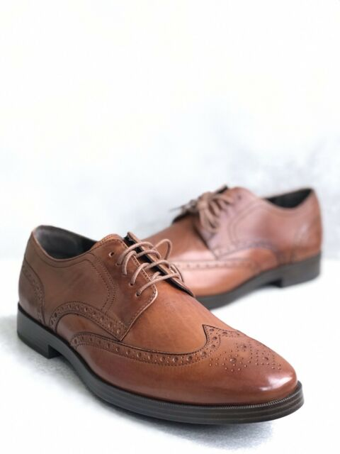 Details about  /Cole Haan Men/'s Jefferson Grand Wingtip Oxford Black Style C23793