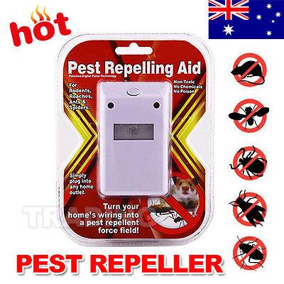 Electronic Repeller AP Riddex Plus Ultrasonic Pest Rodent Killer Rat Spider