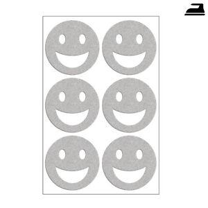 Dettagli Su 6 Riflettente Smileys A Caldo Immagini Di Staffa Smile Nel Set Set Riflettore Mostra Il Titolo Originale
