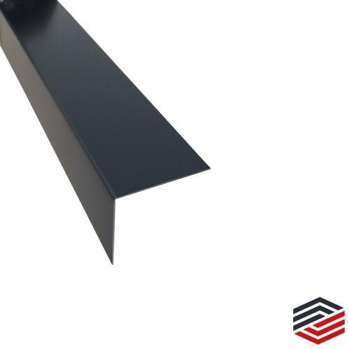 Winkel Anthrazit stahl verzinkt 0,75mm stark Maße siehe Beschreibung