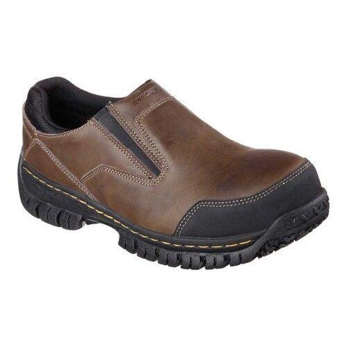 Skechers Hombre Se Deslizan En Los Zapatos Marrones ZmdfDkalJ