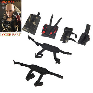 1//6 Scale Female Arm Sleeves End War Umir Flagset Action Figures