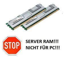 2x 4GB 8GB RAM Intel Server Board S5400SF SC5400RA 667 Mhz FB DIMM DDR2 Speicher