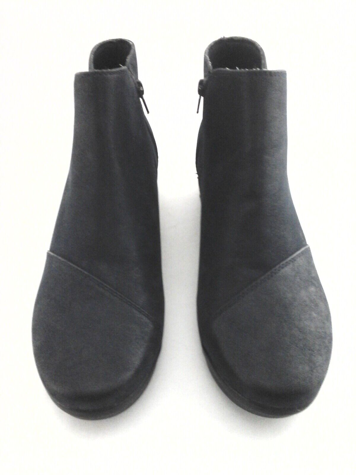 CLARKS CLOUDSTEPPERS Ankle Boot Caddell Tropic Navy Navy Navy Wedge Bootie 12 44  120 New 26d12e