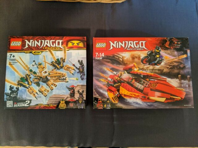 LEGO Ninjago 70638 Masters of Spinjitzu  & 70666 Legacy. Two sets. New & Sealed