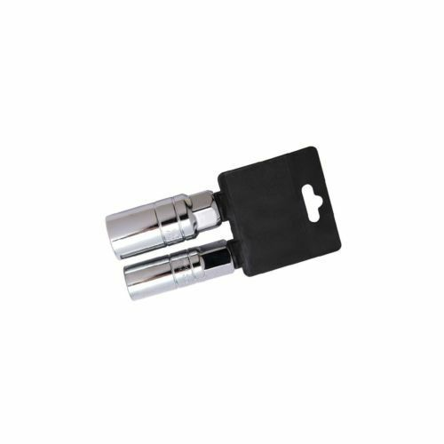 "3//8/"" Spark Plug Remover Deep Socket Set 2pce for 16mm /& 21mm Plugs"