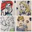 Personalised-DISNEY-WB-Canvas-Tote-Bag-Winnie-Mickey-Simba-Minnie-Mermaid thumbnail 27