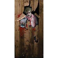 zombie scary Halloween Prop Party fancy dress DOOR POSTER decoration 6ft x 3ft