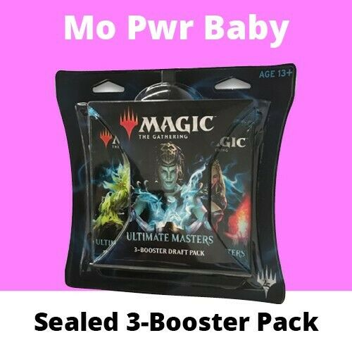Magic The Gathering Ultimate Masters Booster Draft Pack ✔ x3 Packs