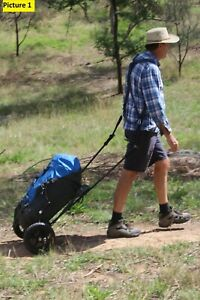Trekker-039-s-Friend-hiking-trailer-Classic-version-carries-your-backpack-for-you