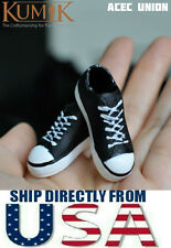 KUMIK 1/6 Female Sneakers Shoes Converse Style FS-17 For Hot Toys -U.S.A. SELLER