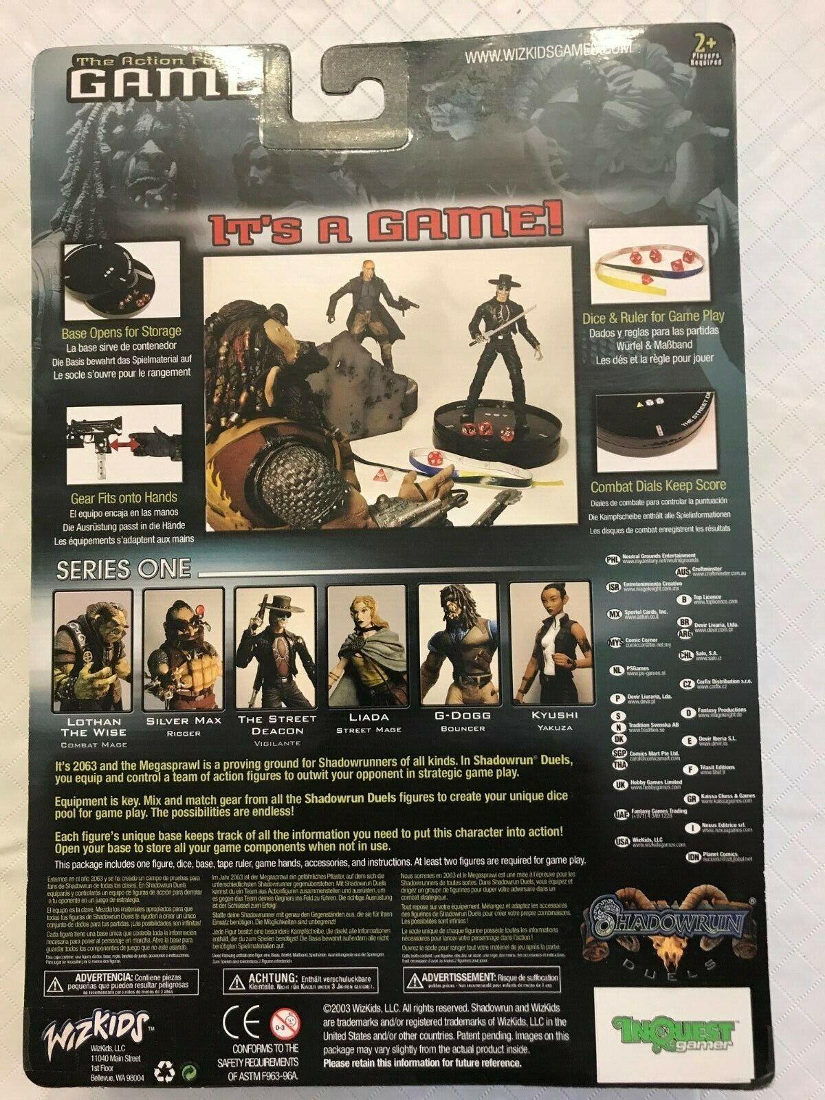 Shadowrunner Hellan Hellan Hellan Colt ToyFare Exclusive Mail-In 89454d