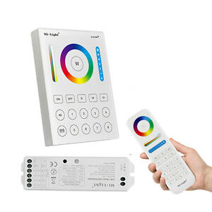 Details about Mi Light Smart Home LED controller 2 4G wireless 8 Zone RF  Dimmer remote B8 LS2