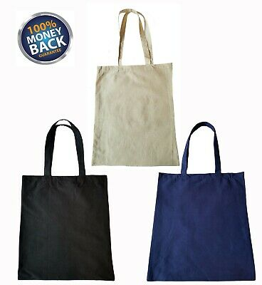 3 PACK Recycled Reusable Eco Friendly Grocery Shopping Tote Bags 13x15x6 Gusset