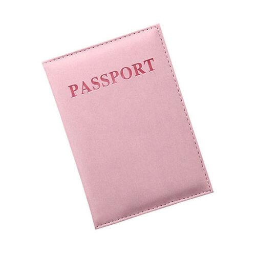 Mode Passeport Sac Cartes Sac Portefeuille Carte Étui Housse Passeport