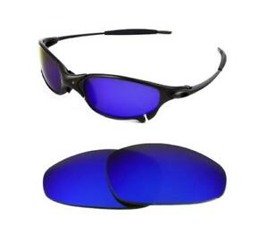 cbe43c8957 Image is loading NEW-POLARIZED-REPLACEMENT-DEEP-BLUE-LENS-FOR-OAKLEY-
