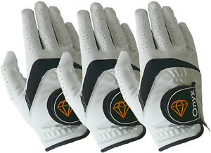 Onyx-Mens-Premium-RH-Golf-Gloves-3Pack-All-Weather-Size-Right-Hand-Medium-White