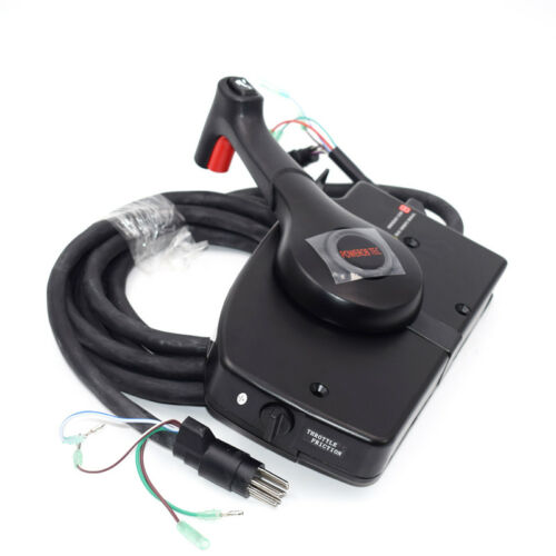 Produce Right Boat Motor Side Mount Remote Control Box With 8 Pin Cable15ft Kits