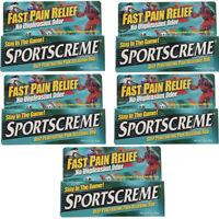 5 Pack Sportscreme Rub 3 Oz Each on sale