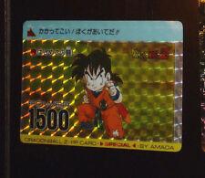 DRAGON BALL Z DBZ AMADA PP SPECIAL CARDDASS CARD PRISM CARTE 595 JAPAN RARE **