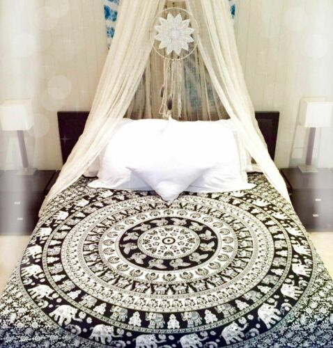 Mandala Tapestry Indian Wall Decor Bohemian Wall Hanging Hippie Queen Bedspread
