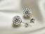 Womens-Multi-Gem-Earrings-Crystal-Ball-925-Sterling-Silver-Plated-Round-Ear-Stud thumbnail 5