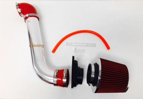 Red Air Intake System Kit Filter For 1999-2003 Mitsubishi Galant 2.4L 3.0L