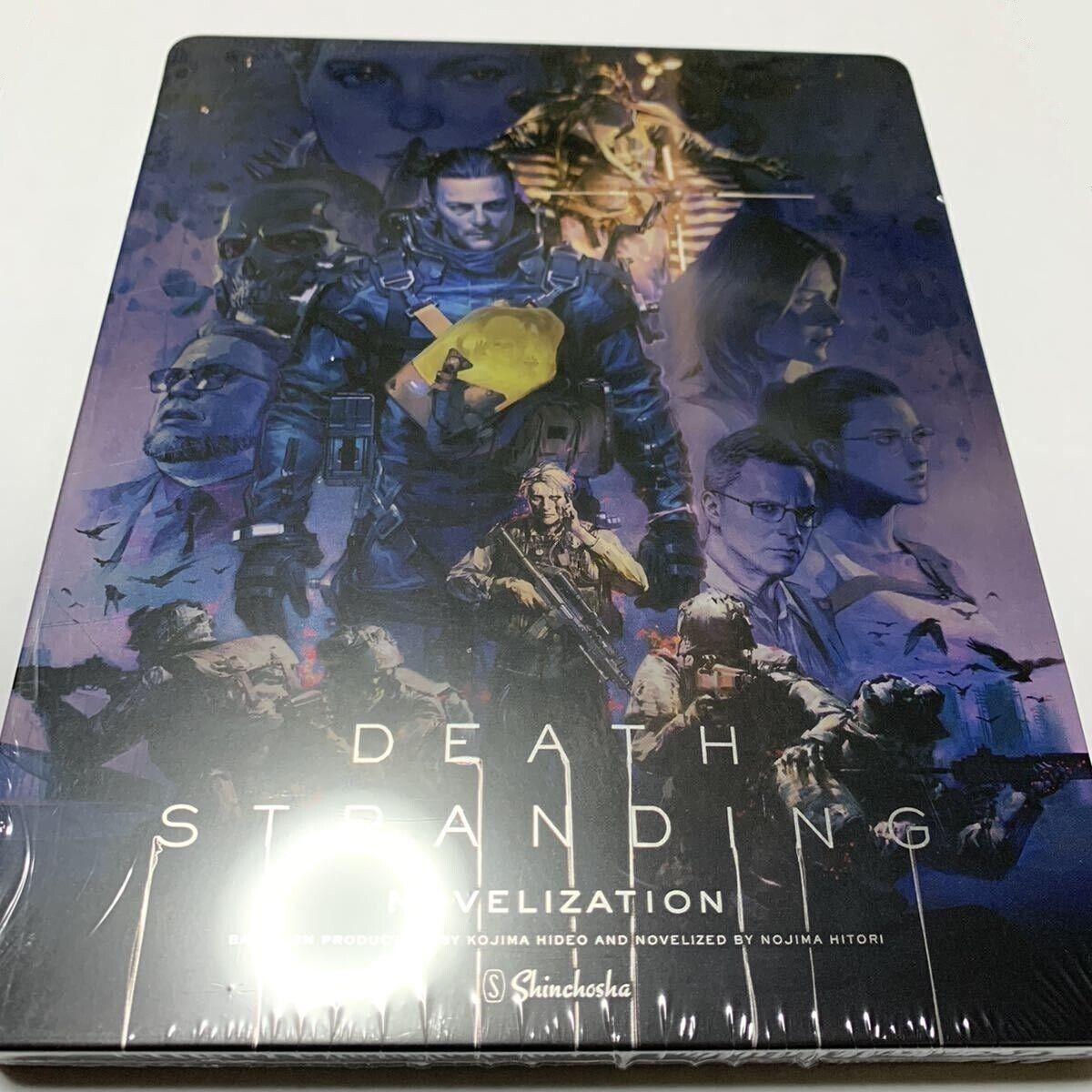 "Novelize Steel Book official /""Death Stranding/"" Limited Special Edition Japan"