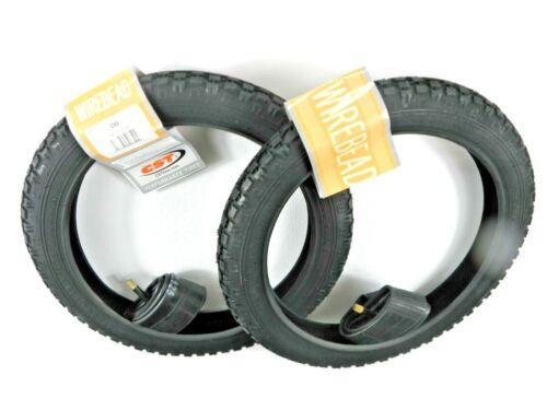 2 X Fahrradreifen Kinderrad CST 14 X1,75 47-254 mit passendem Schlauch AV  04201