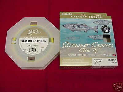 Scientific Angler Streamer Express 150 Grain 4 5 Line Fliegen Line GREAT NEU