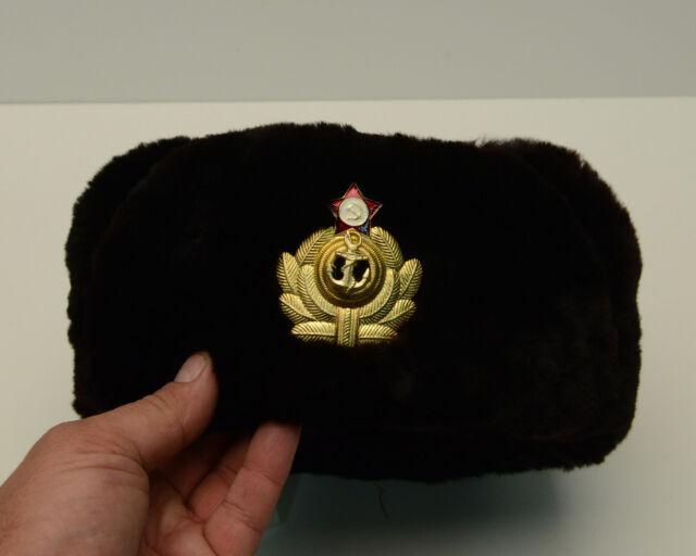 Vintage Ushanka Military hat 30d44599c7d1